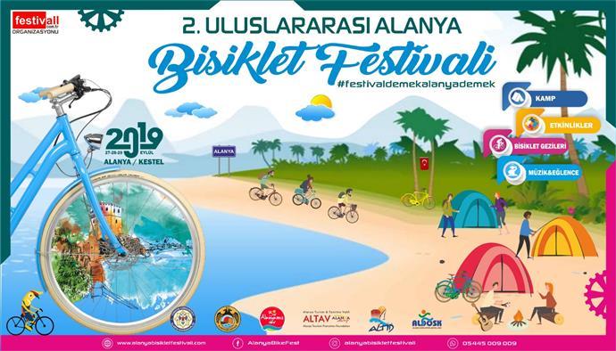 ULUSLARARASI ALANYA BİSİKLET FESTİVALİ'NİN HAZIRLIKLARI BAŞLADI