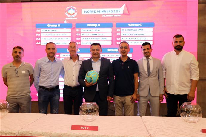 WORLD WINNERS CUP İÇİN ALANYA'DA KURALAR ÇEKİLDİ