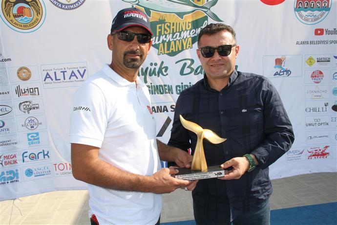 2. ALANYA FISHING TOURNAMENT YARIŞI YAPILDI