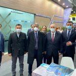 BAŞKAN YÜCEL'DEN TANITIM ATAĞI RUSYA'NIN EN BÜYÜK TURİZM FUARI MITT MOSKOVA'DA ALANYA TANITILIYOR