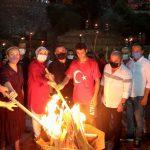 ALANYA'DA 30 AĞUSTOS ZAFER BAYRAMI COŞKUYLA KUTLANDI